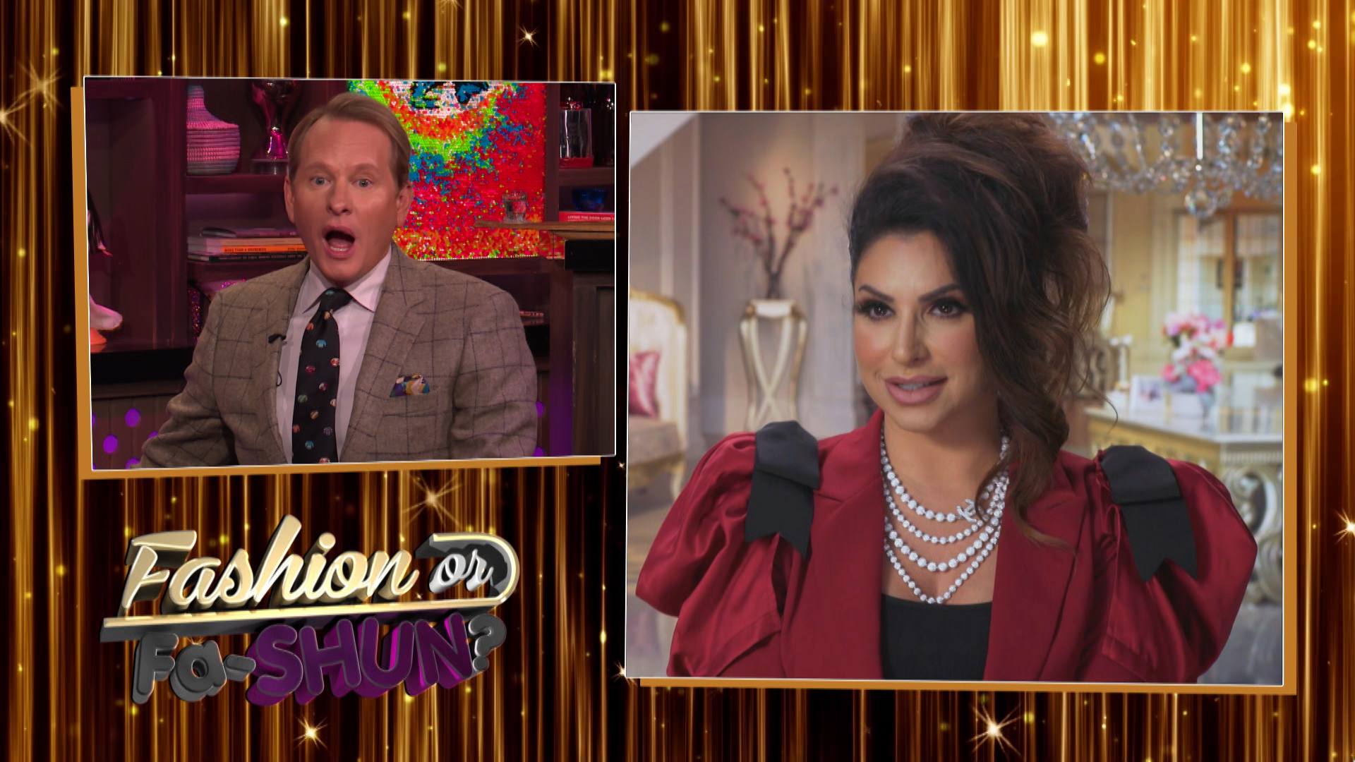 Carson Kressley on Real Housewives Fashion