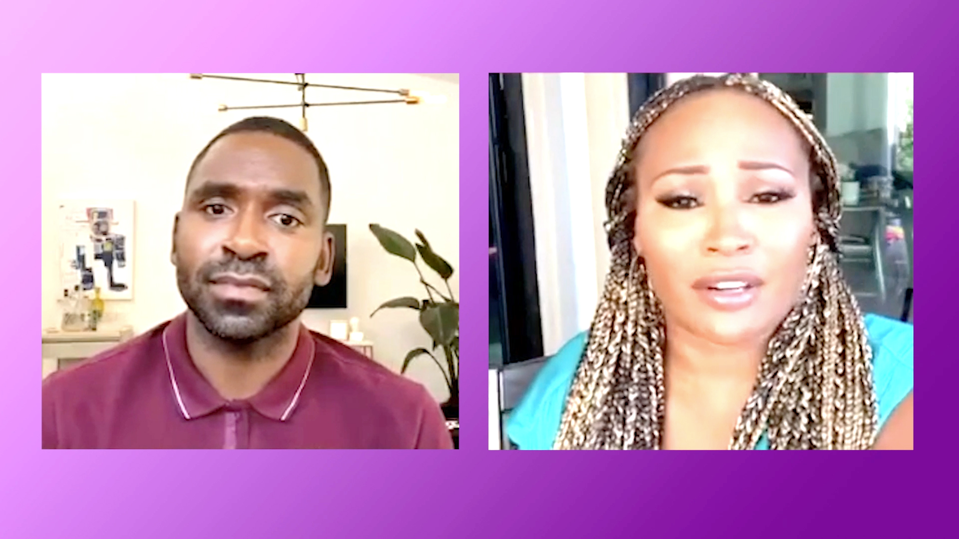 Cynthia Bailey and Justin Sylvester's Powerful Message to Haters and Trolls