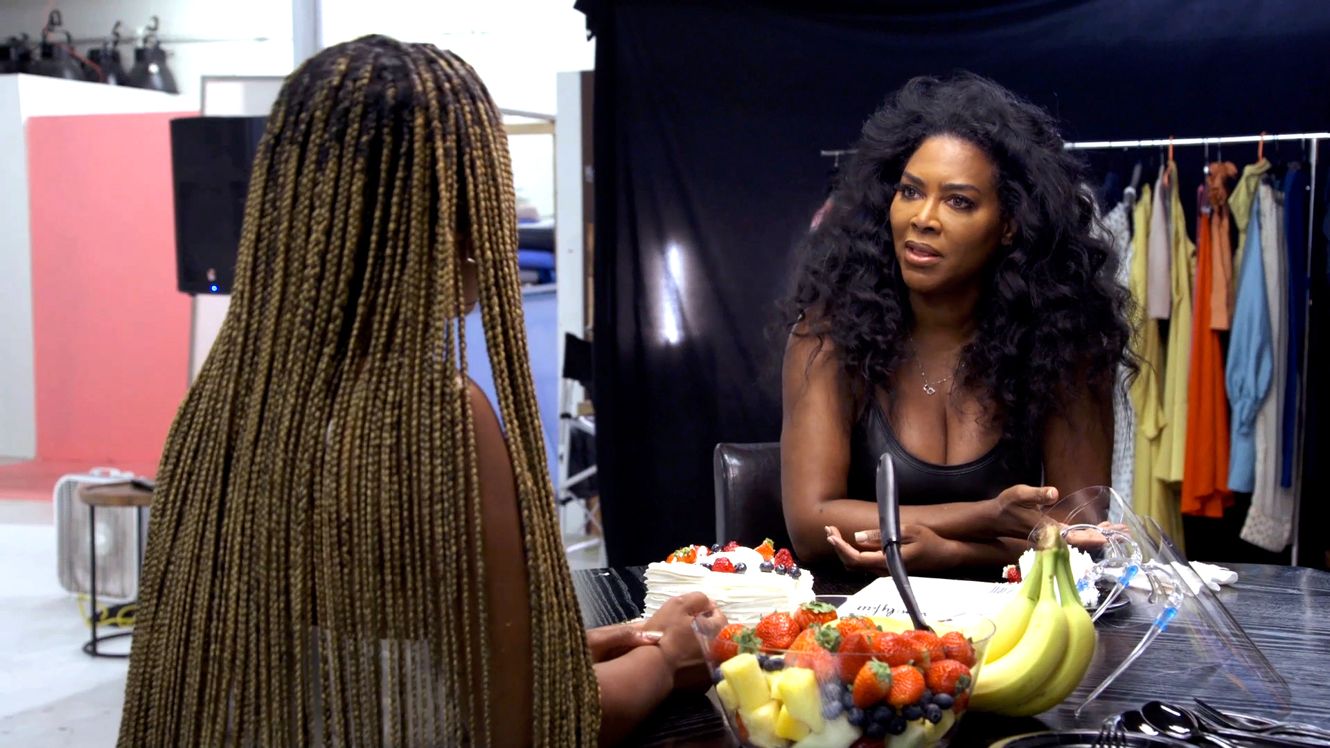 Kenya Moore Admits to Having a Crush on LaToya Ali