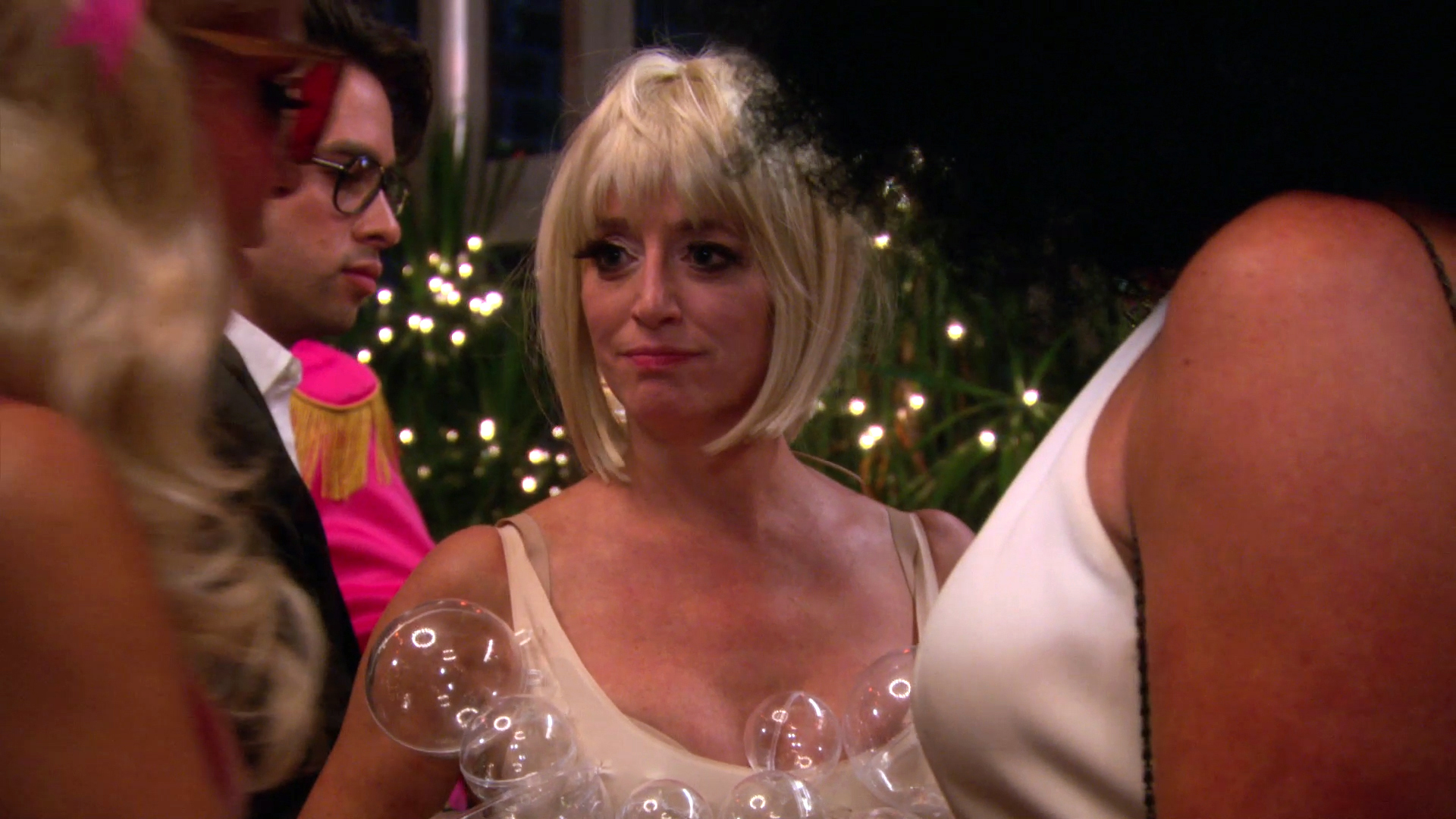 Adam Sandler, Andy Samberg, and Dorinda's Bubble Dress
