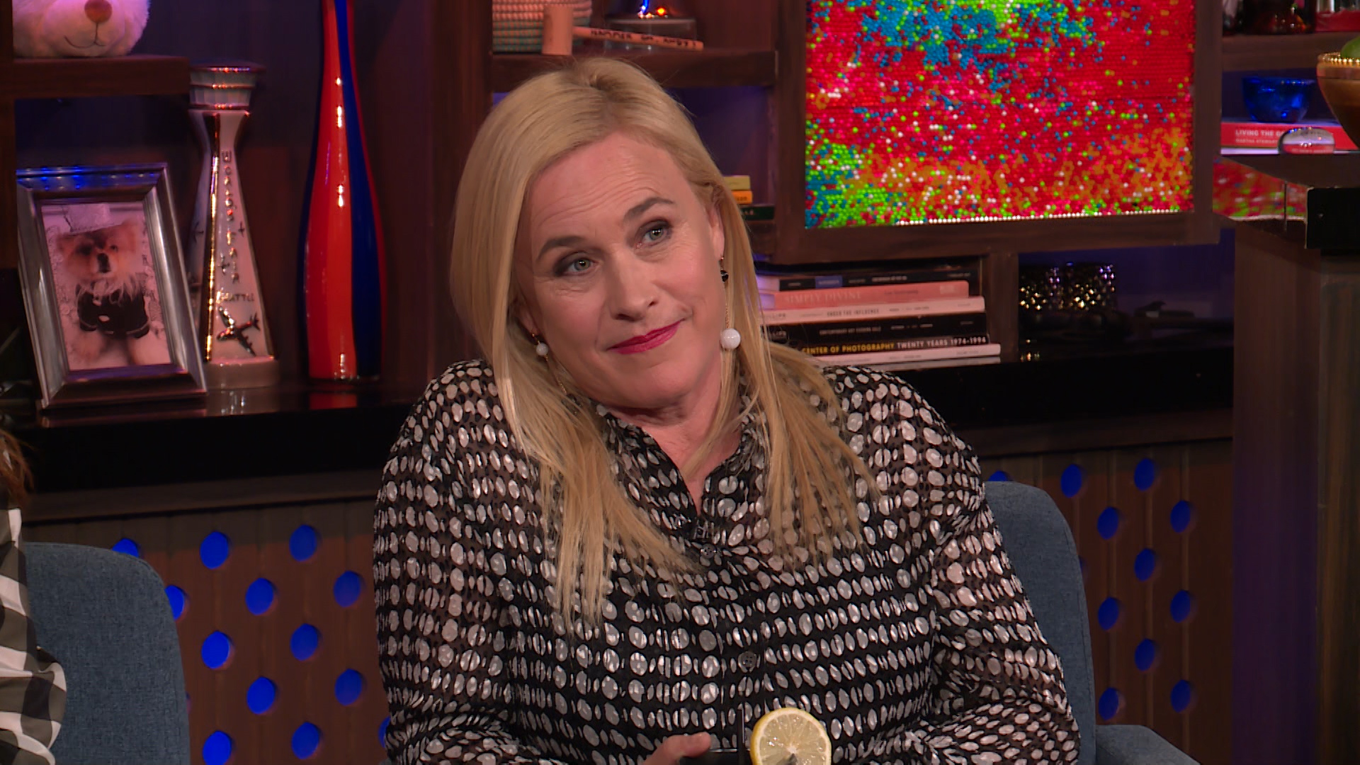 Patricia Arquette on Her Relationship with Nicolas Cage