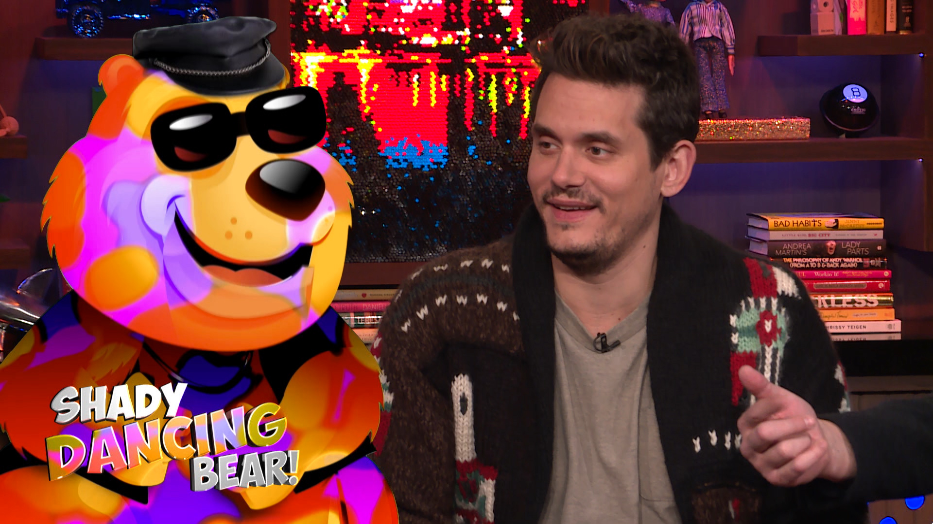 John Mayer on Andy Cohen's Annoying Habit
