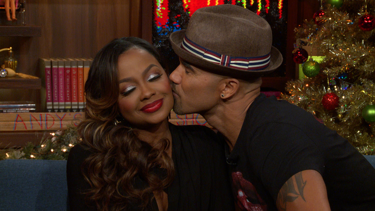 Shemar Moore & Phaedra Park's Clubhouse Kiss