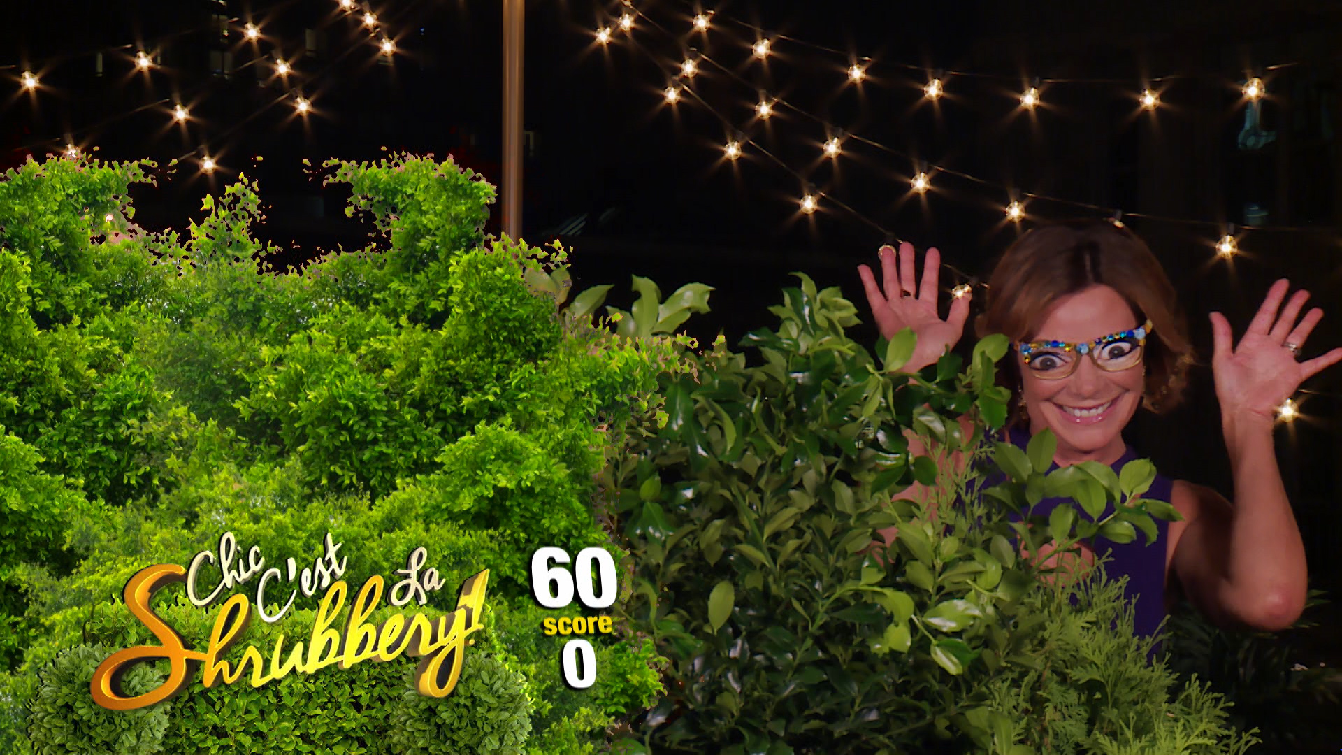 Luann Plays Chic C'est Le Shrubbery