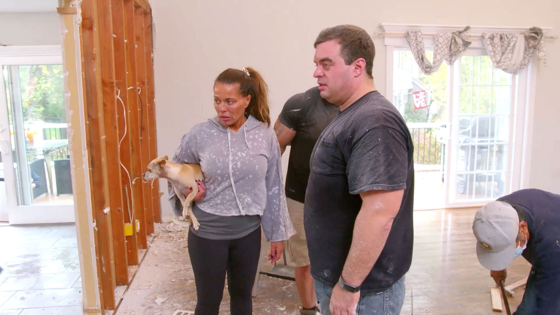 Dolores Catania and Frank Catania Start Renovations on Her Home
