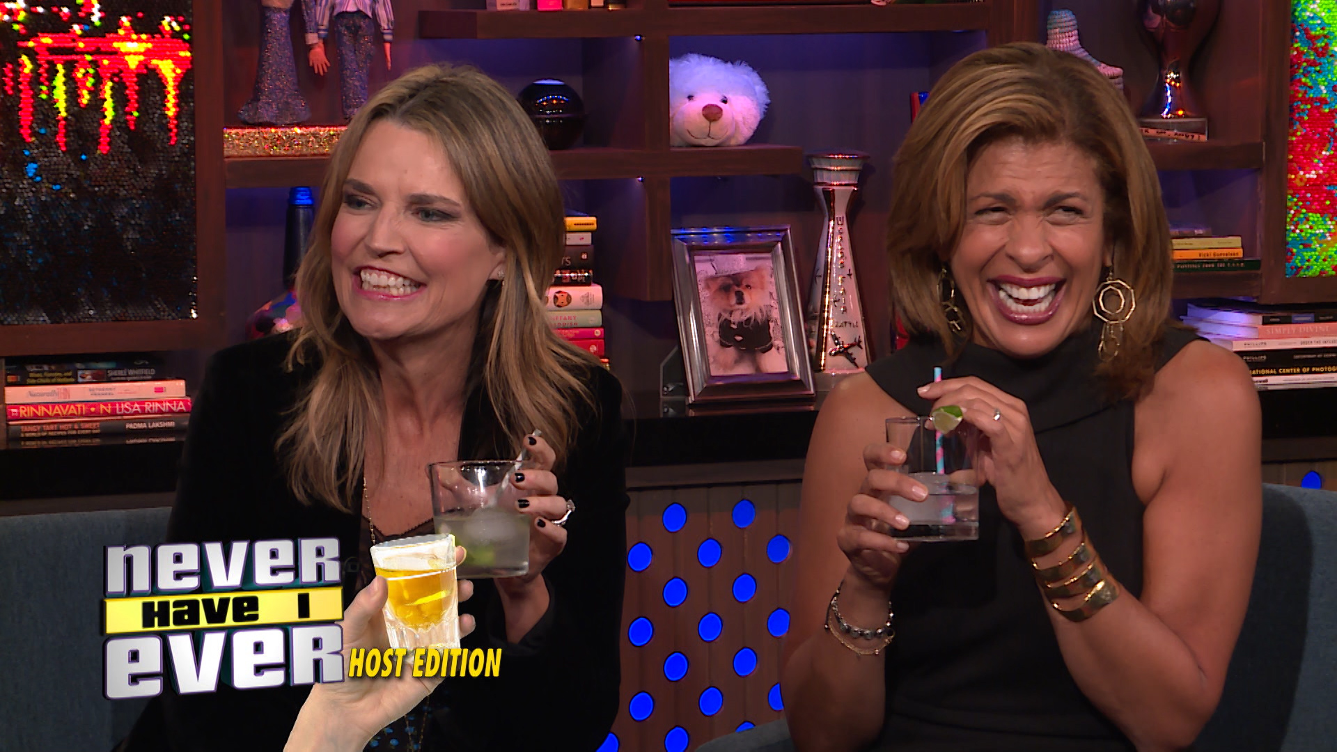 Hoda & Savannah Play Never Have I Ever, Host Edition!