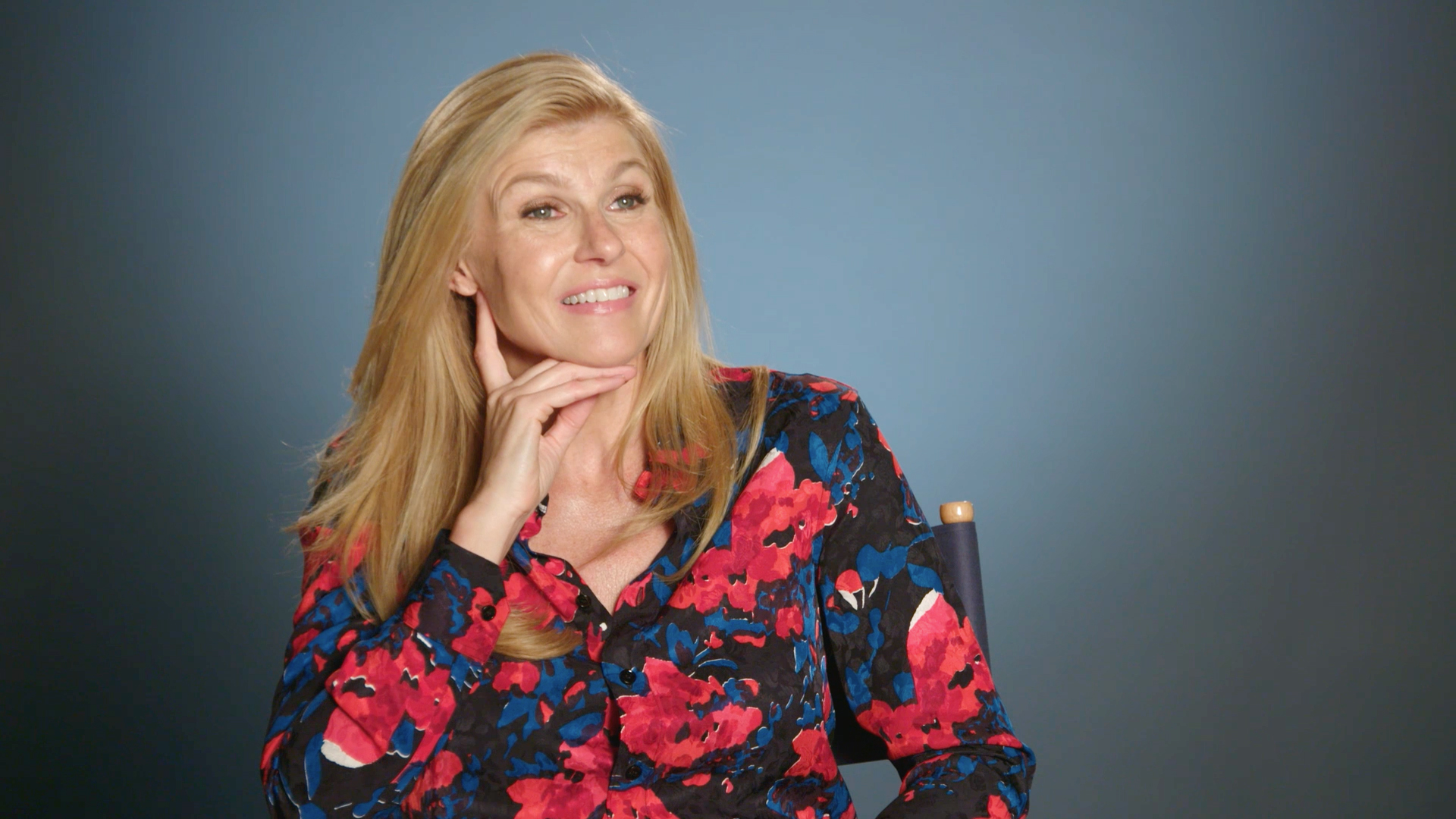 Connie Britton Talks About  Meeting and Playing Debra Newell