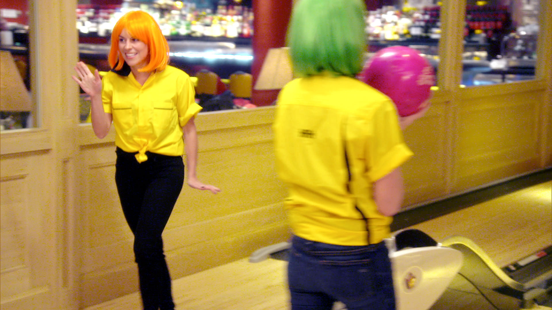 Ladies of London Bowling Alleys