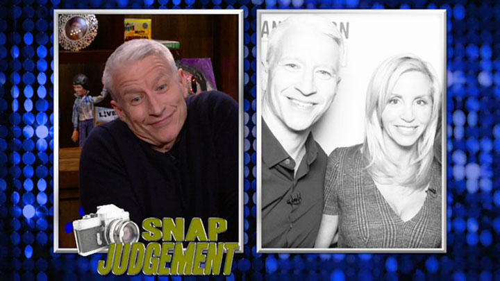 Anderson Cooper's Snap Judgement