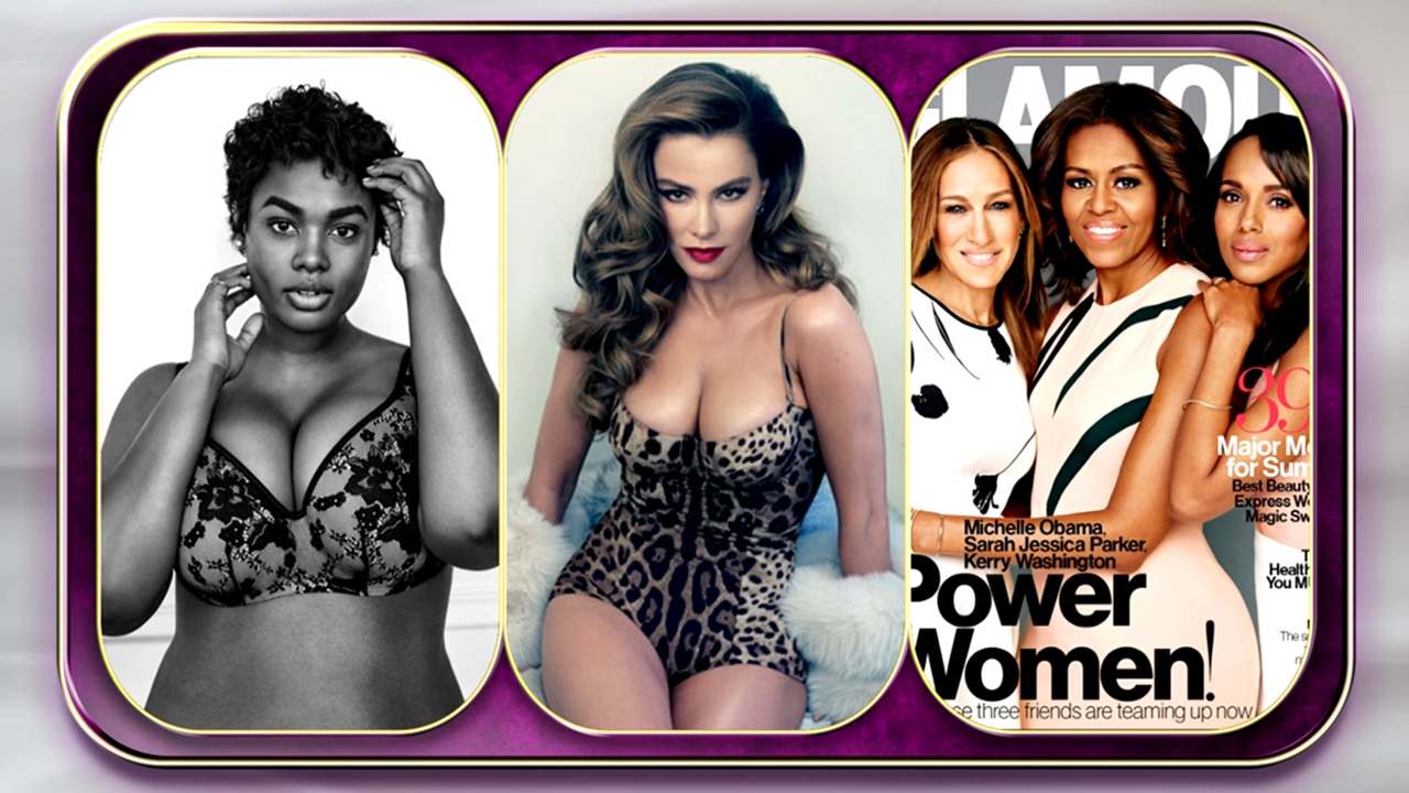 Gag Award: Lane Bryant, Sofia, or 'Glamour' Magazine?