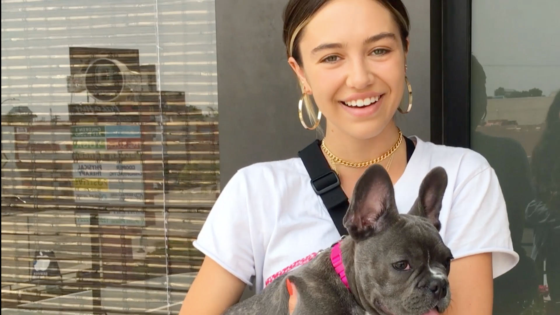 Delilah Belle Hamlin Introduces Us to Her Rescue Frenchie, Love