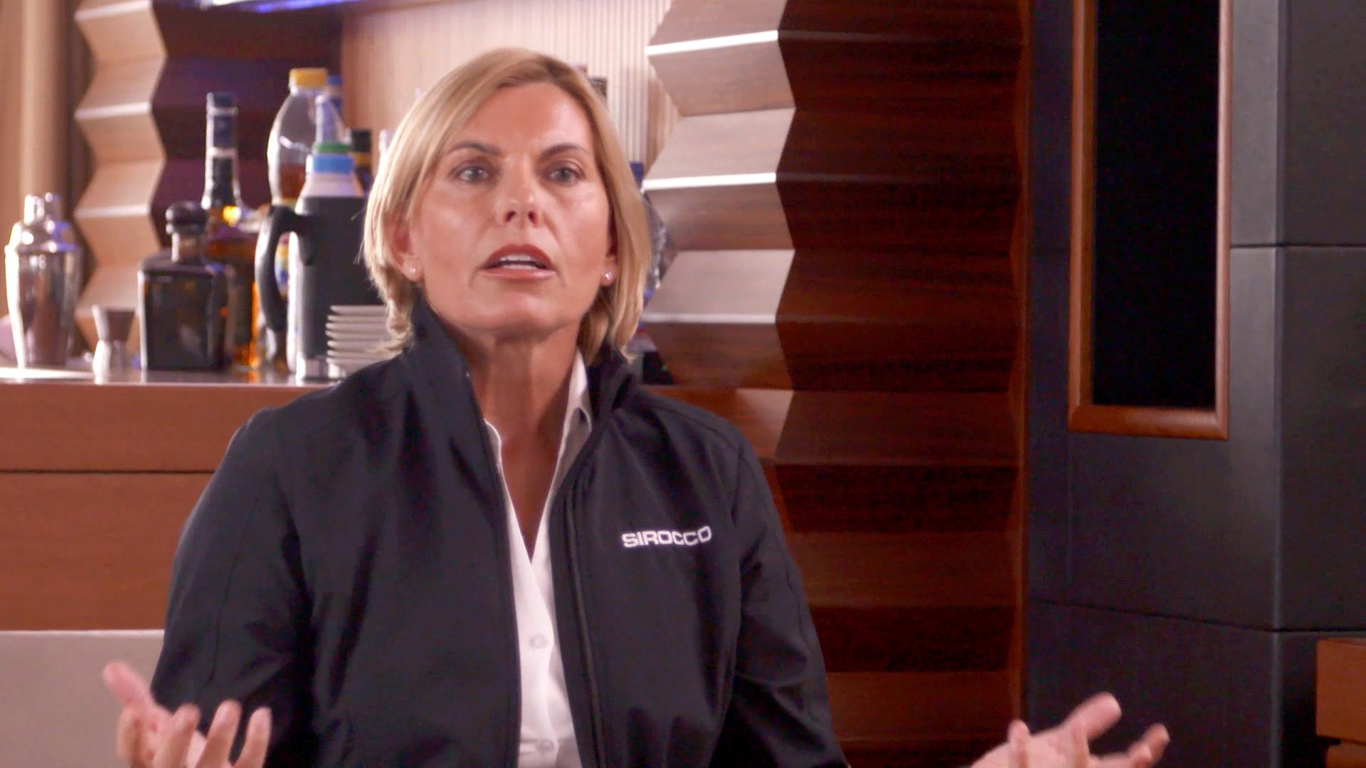 Captain Sandy Yawn Tells Hannah Ferrier: