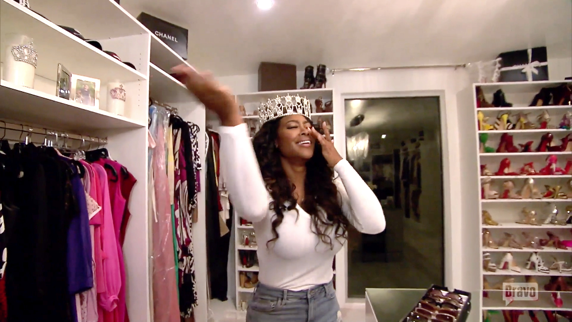Bravo Stars Show Us Inside Their Extravagant Closets