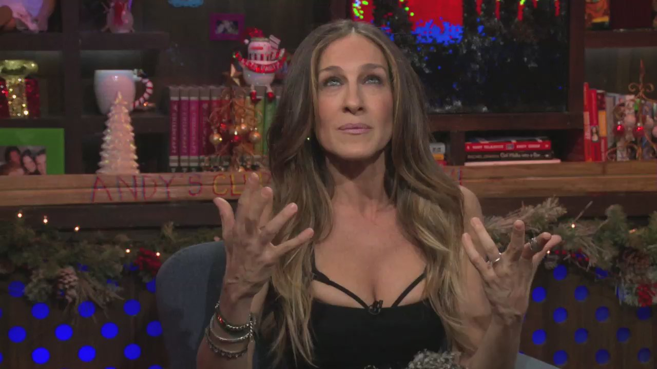 SJP Talks About Her Hands