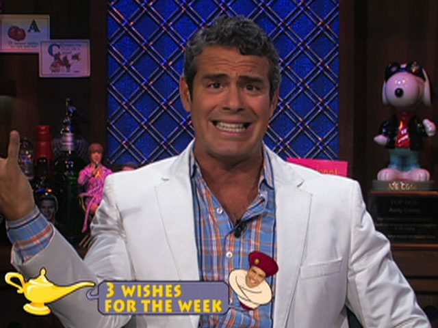 Andy Cohen's Most Embarrassing Moment