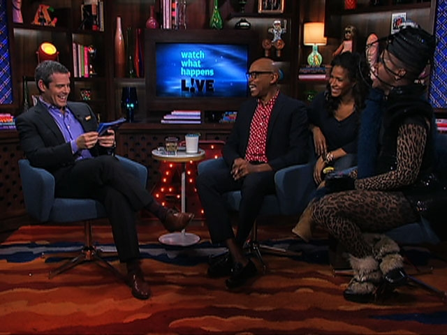 After Show with RuPaul, Lawrence Washington and Sheree Whitfield, part I.