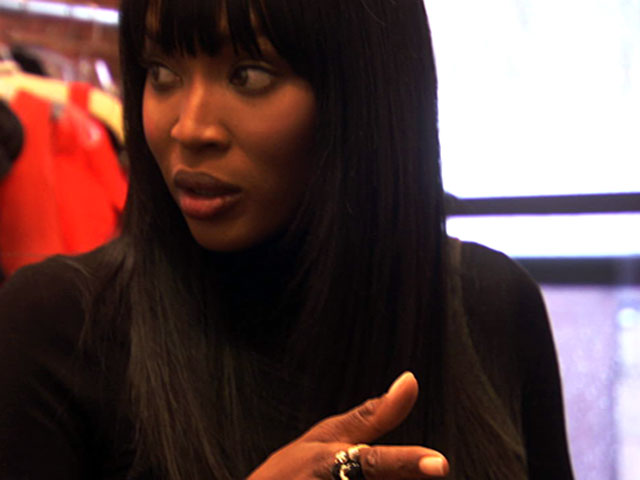 Meeting Naomi Campbell