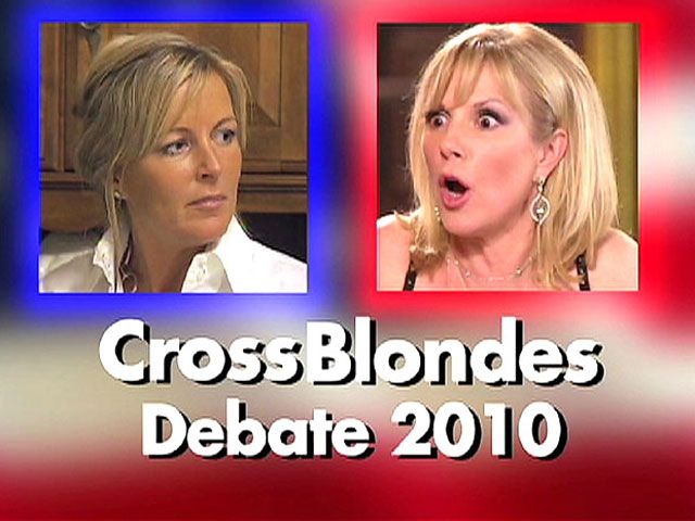 Cross Blondes Debate 2010