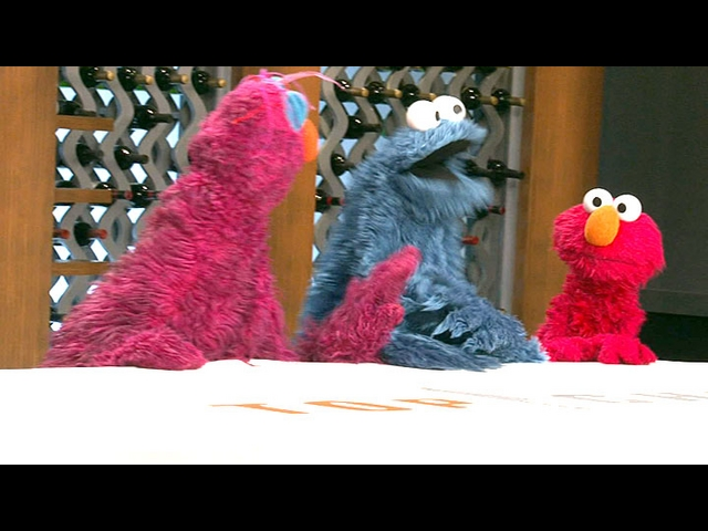Sesame Street Visits the Top Chef Kitchen