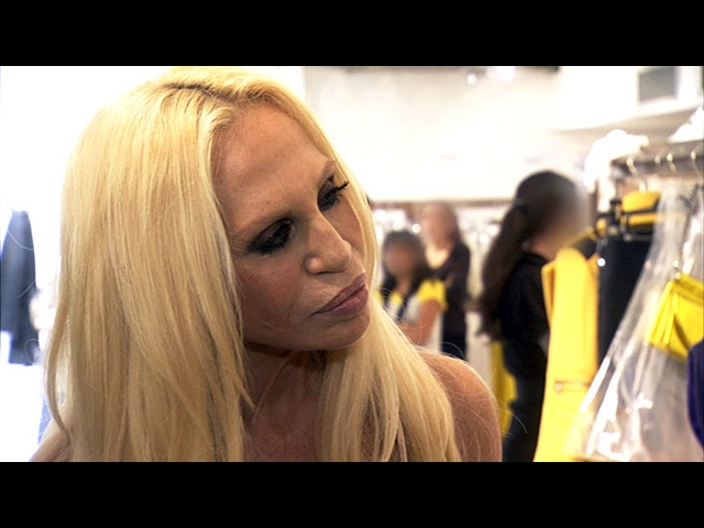 Meeting Donatella Versace