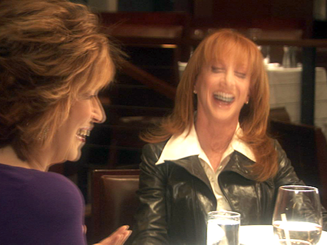 Pretending to Eat with Joy Behar