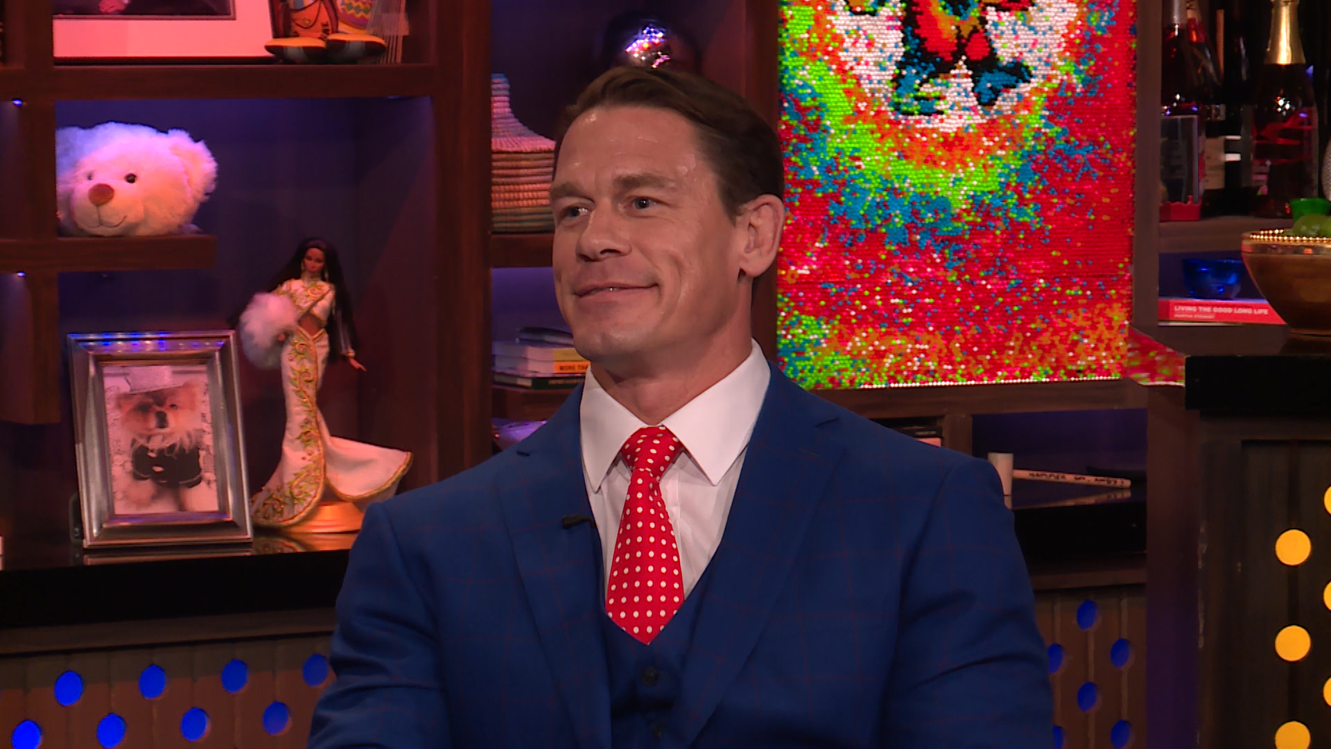 John Cena Swoons over Dwayne Johnson