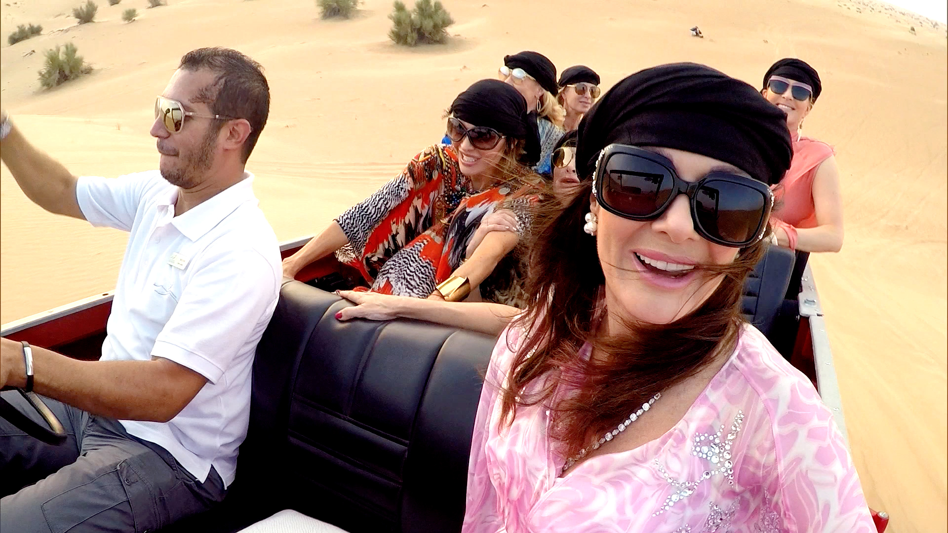 The 'Wives Go for a Drive in the Desert