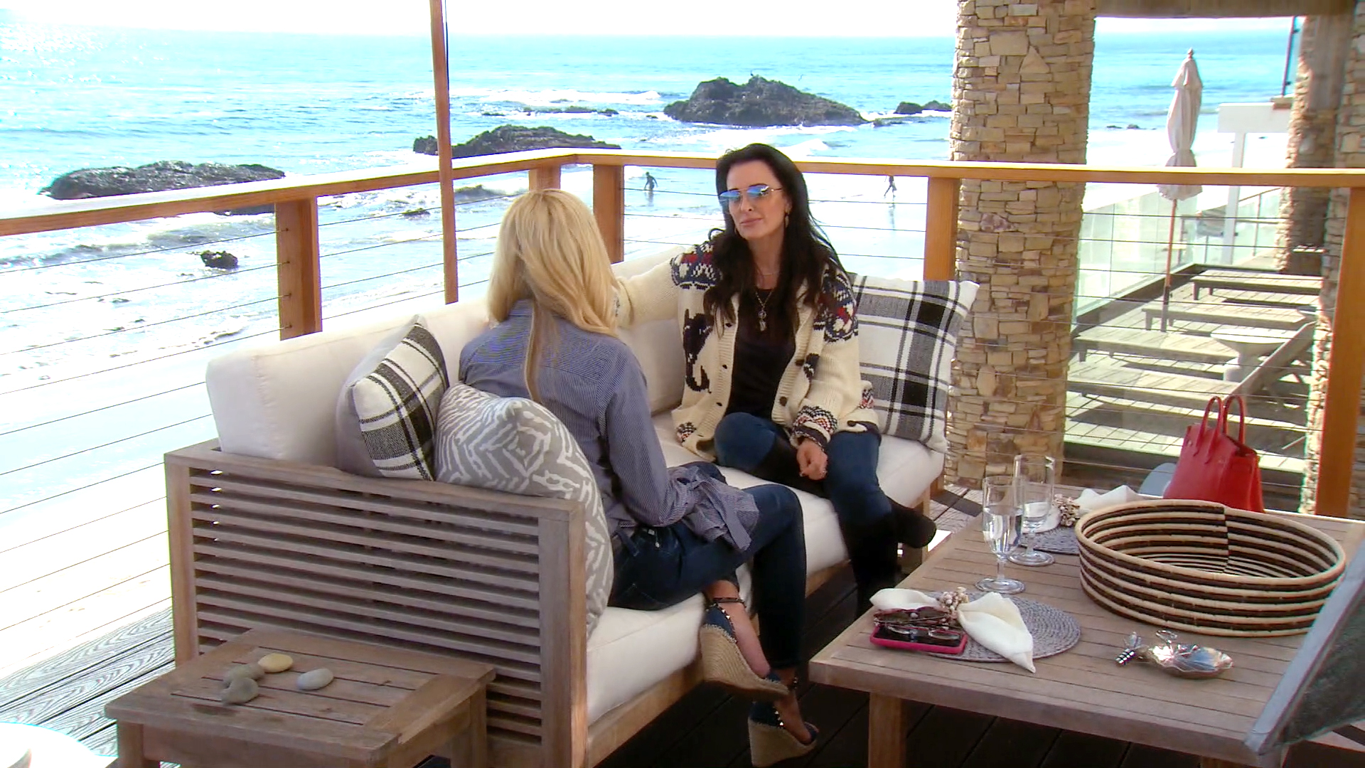 Kyle Richards Confronts Camille Grammer Over Her Negative Social Media Comments