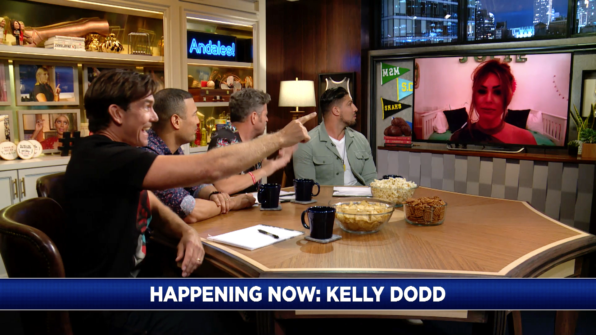 Is Kelly Dodd Hitting on Brendan Schaub?