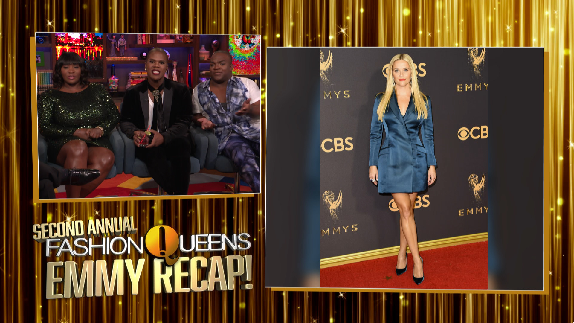 The Fashion Queens' Emmy Recap