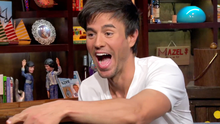 After Show: What's Enrique Packing?