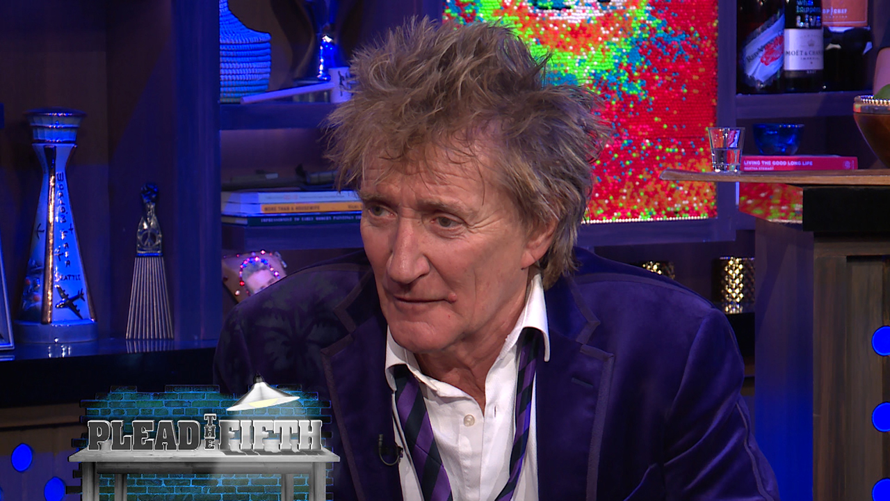 Rod Stewart Pleads the Fifth!