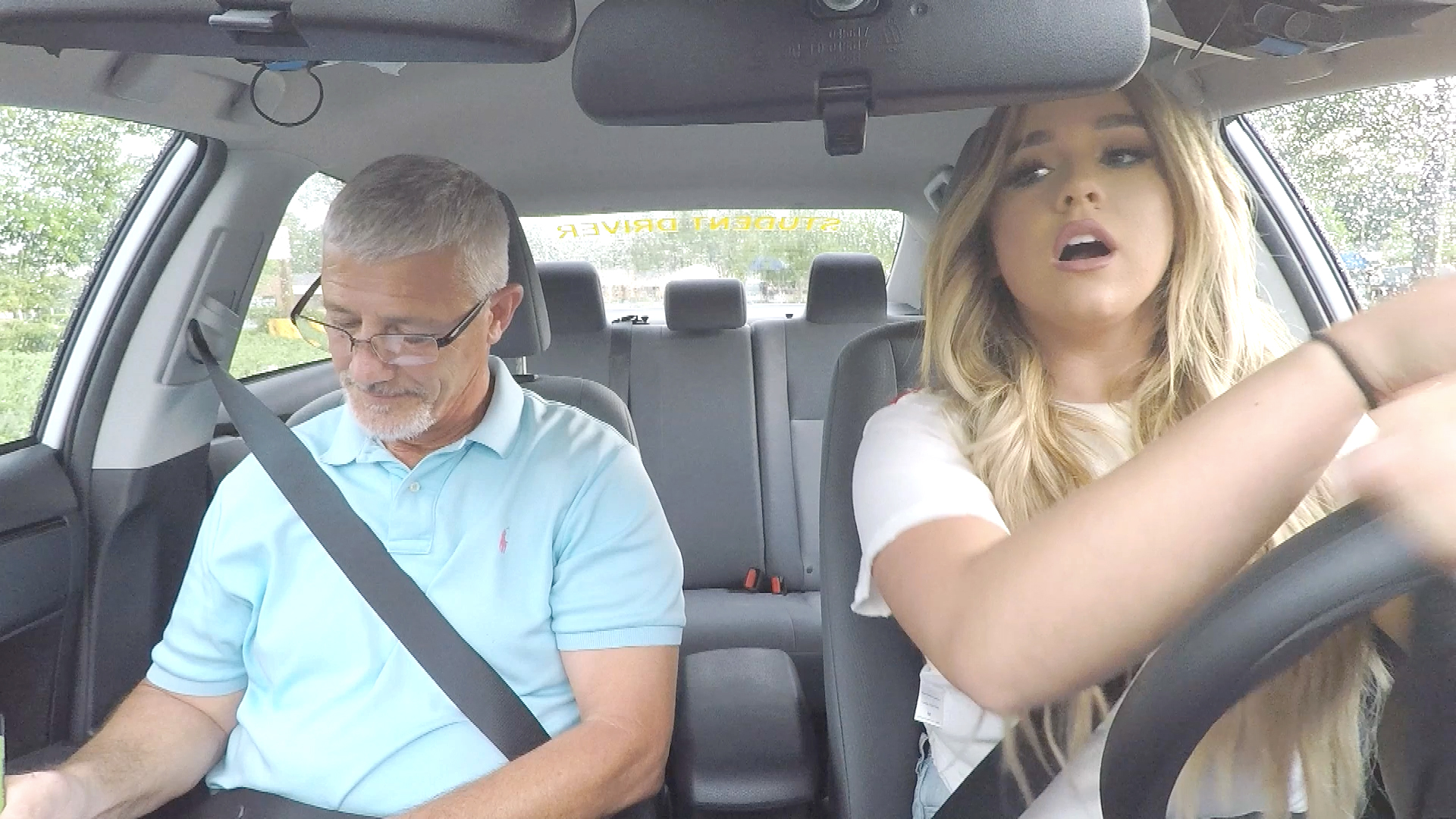 Join Ariana Biermann for Her Driving Test