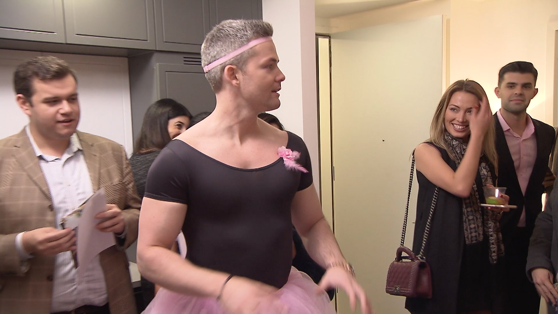 Wait, Why Is Ryan Serhant Wearing a Pink Tutu?
