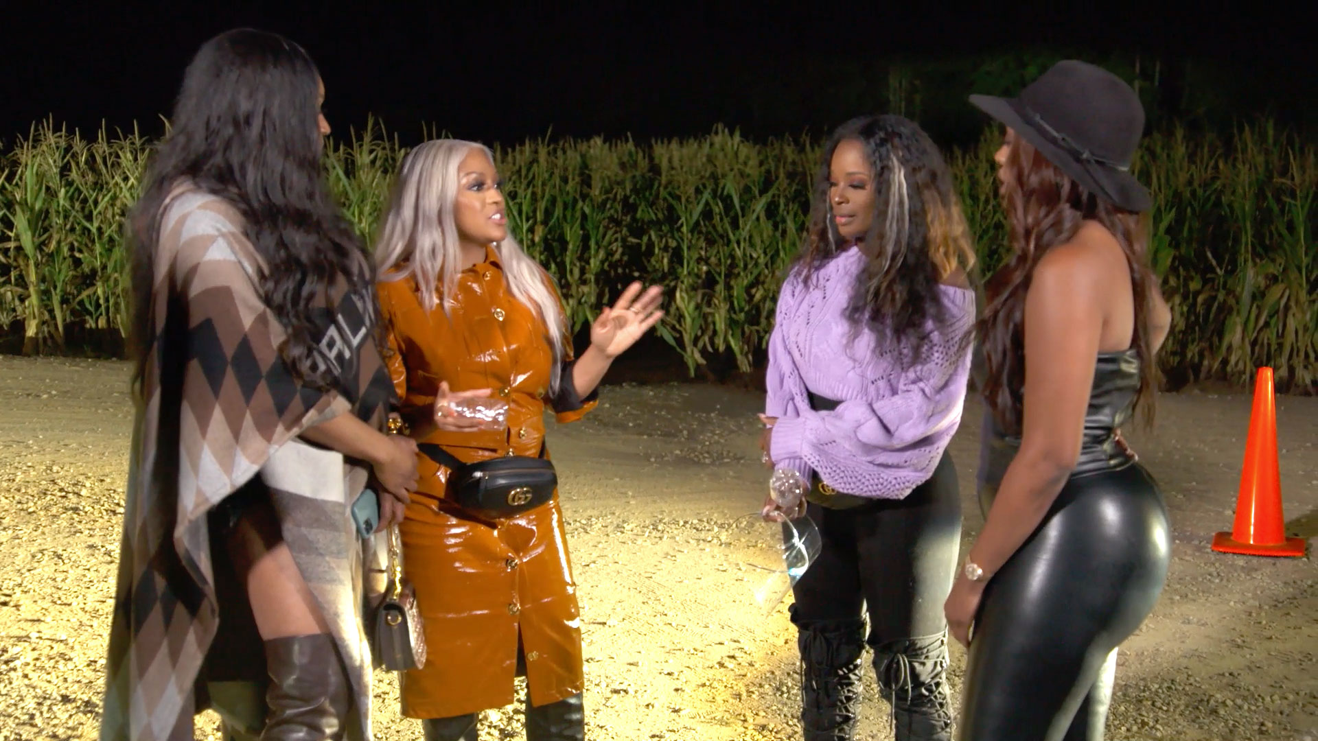 Did Kenya Moore Talk to the Blogs About What Went Down at Cynthia Bailey's Bachelorette Party?
