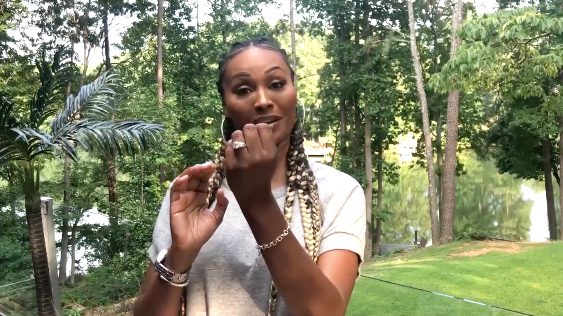 Watch Cynthia Bailey Dishes On Her Wedding Planning The Real