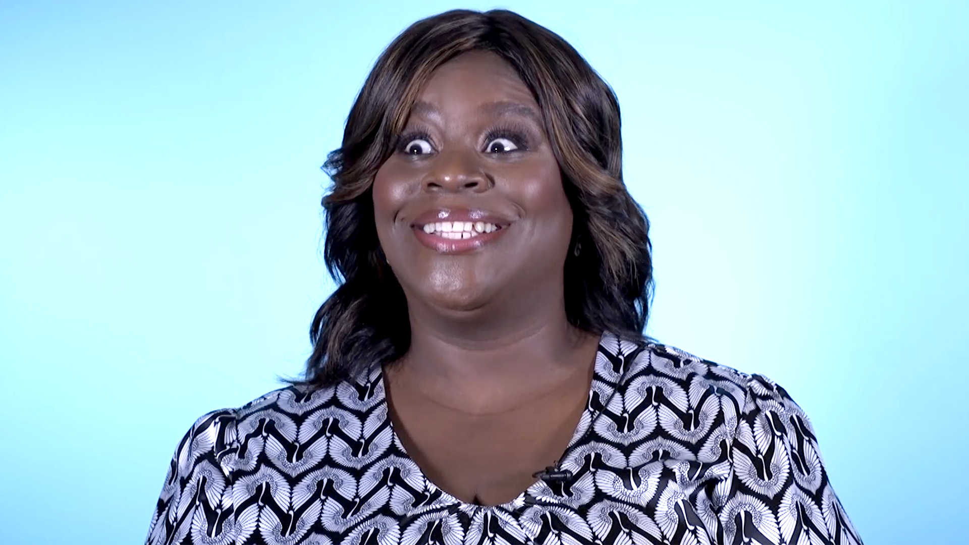 Retta Demonstrates the Awards Show Resting Face