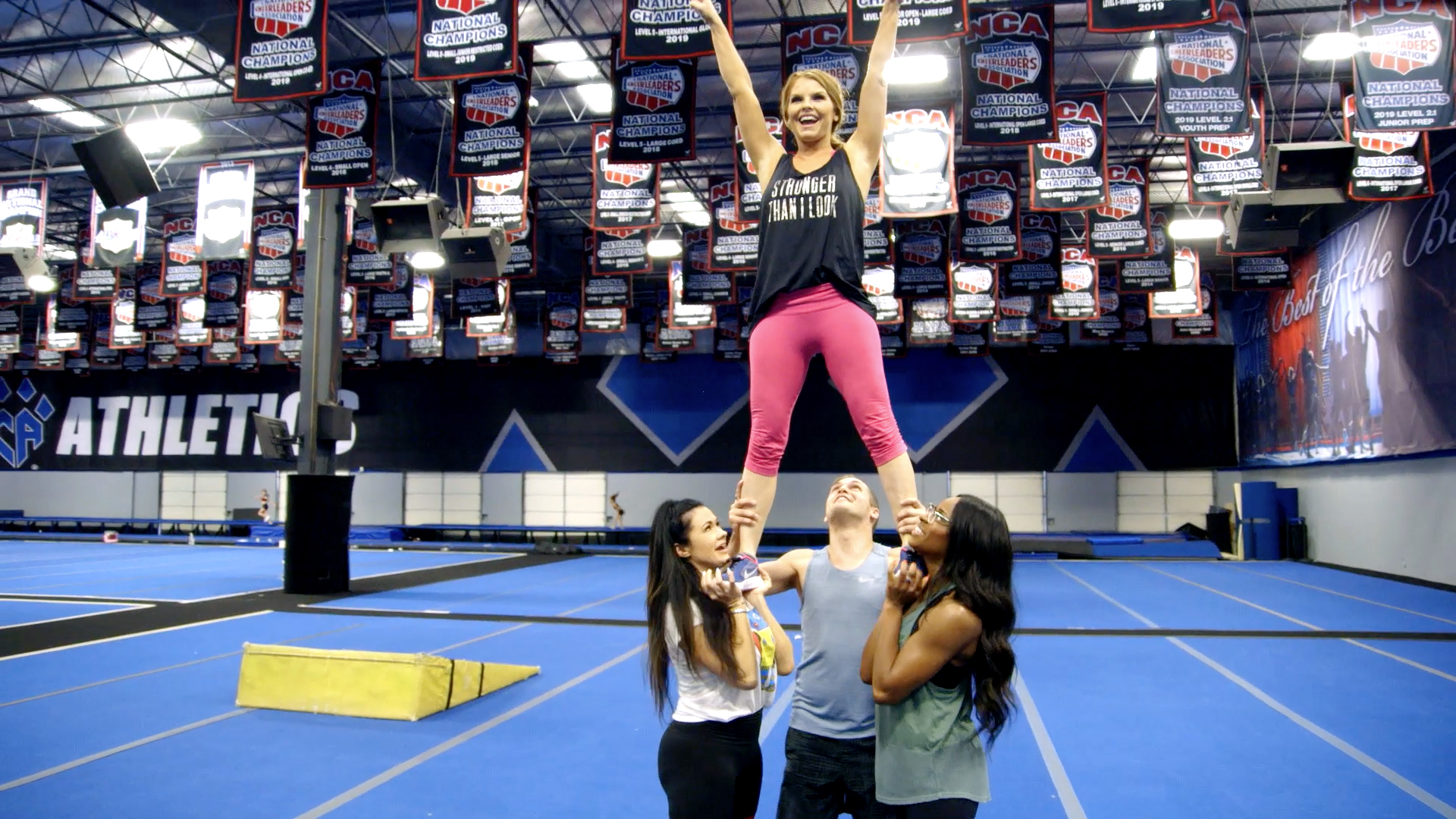 Brandi Redmond's Daughters Are Carrying on Her Cheerleading Legacy