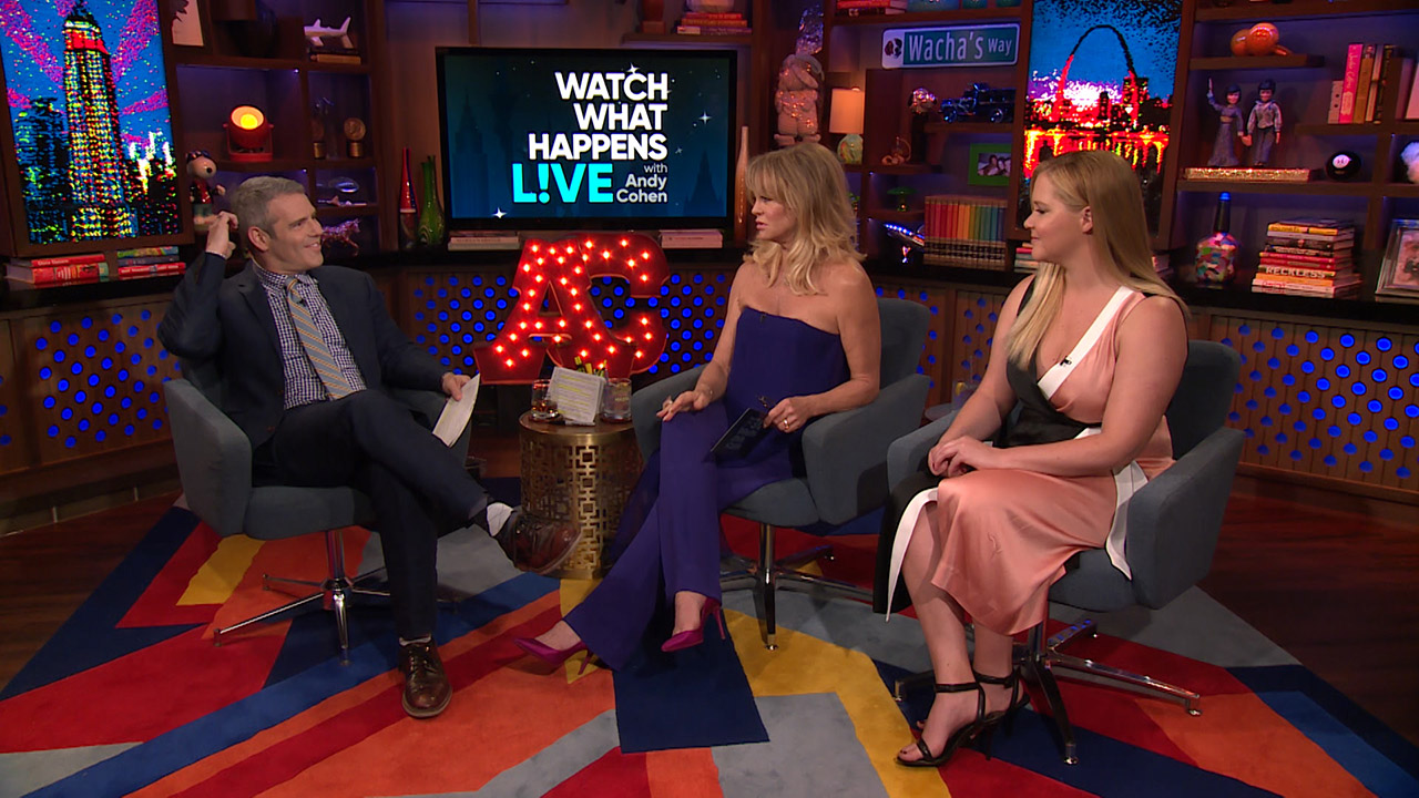 After Show: Goldie Hawn & Amy Schumer Turn the Tables on Andy Cohen!