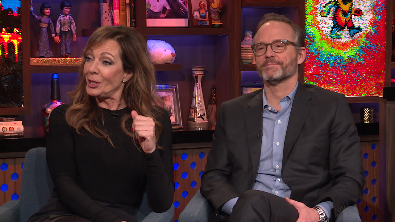 Allison Janney & John Benjamin Hickey's 'First Wives Club' Scene