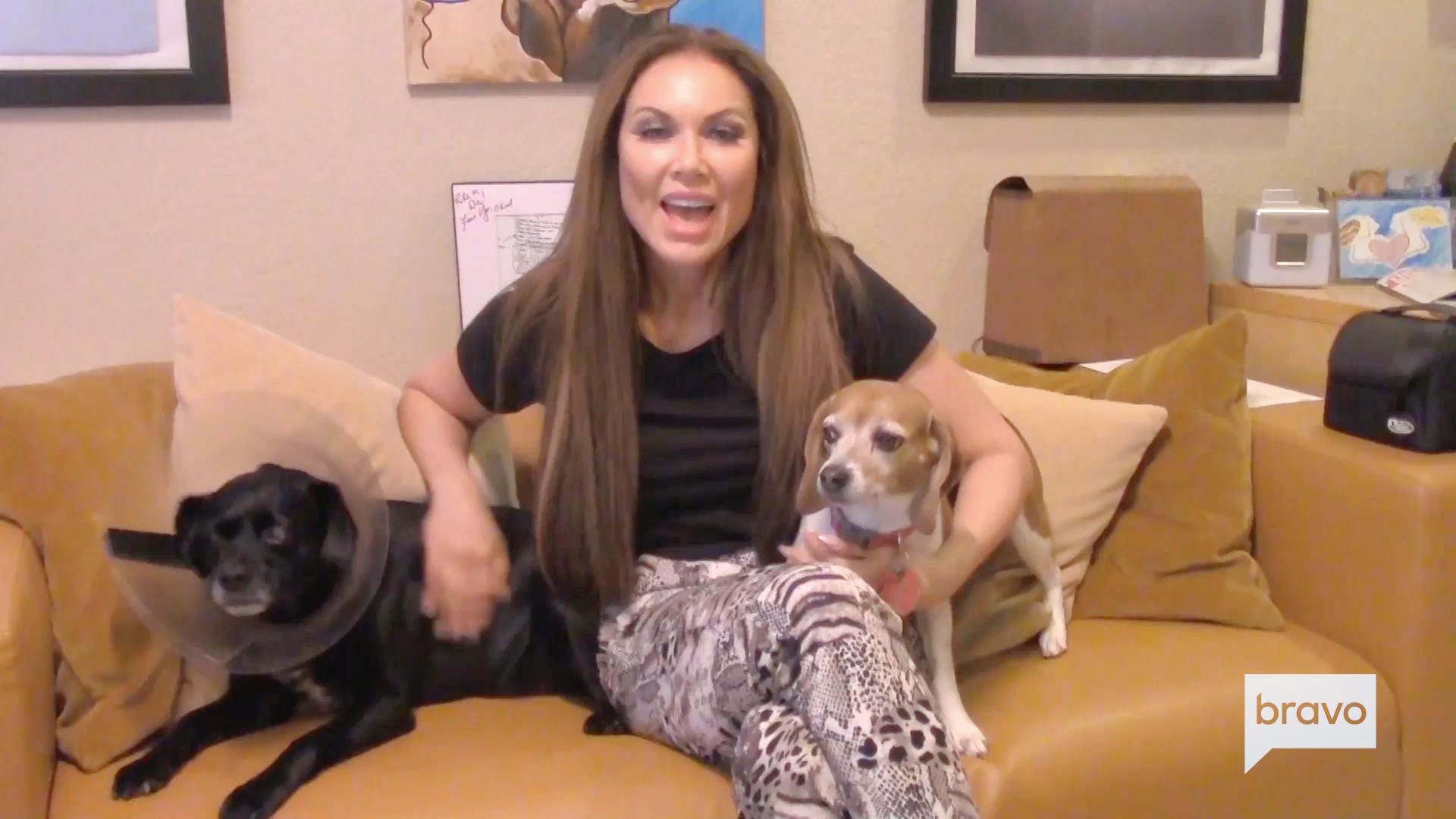 LeeAnne Locken Introduces Her Two Adorable Dogs