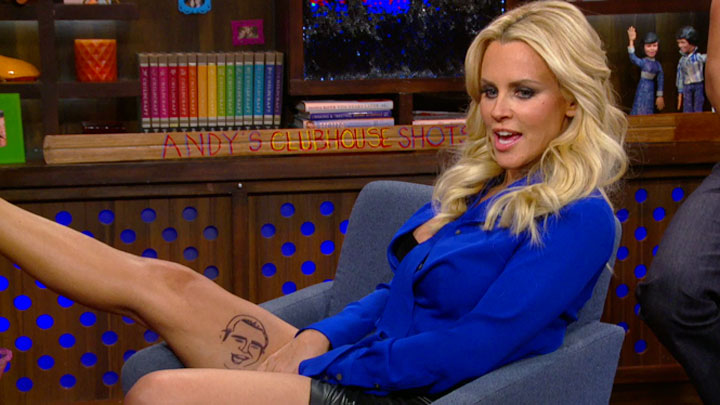 Jenny McCarthy's Andy Cohen Tattoo