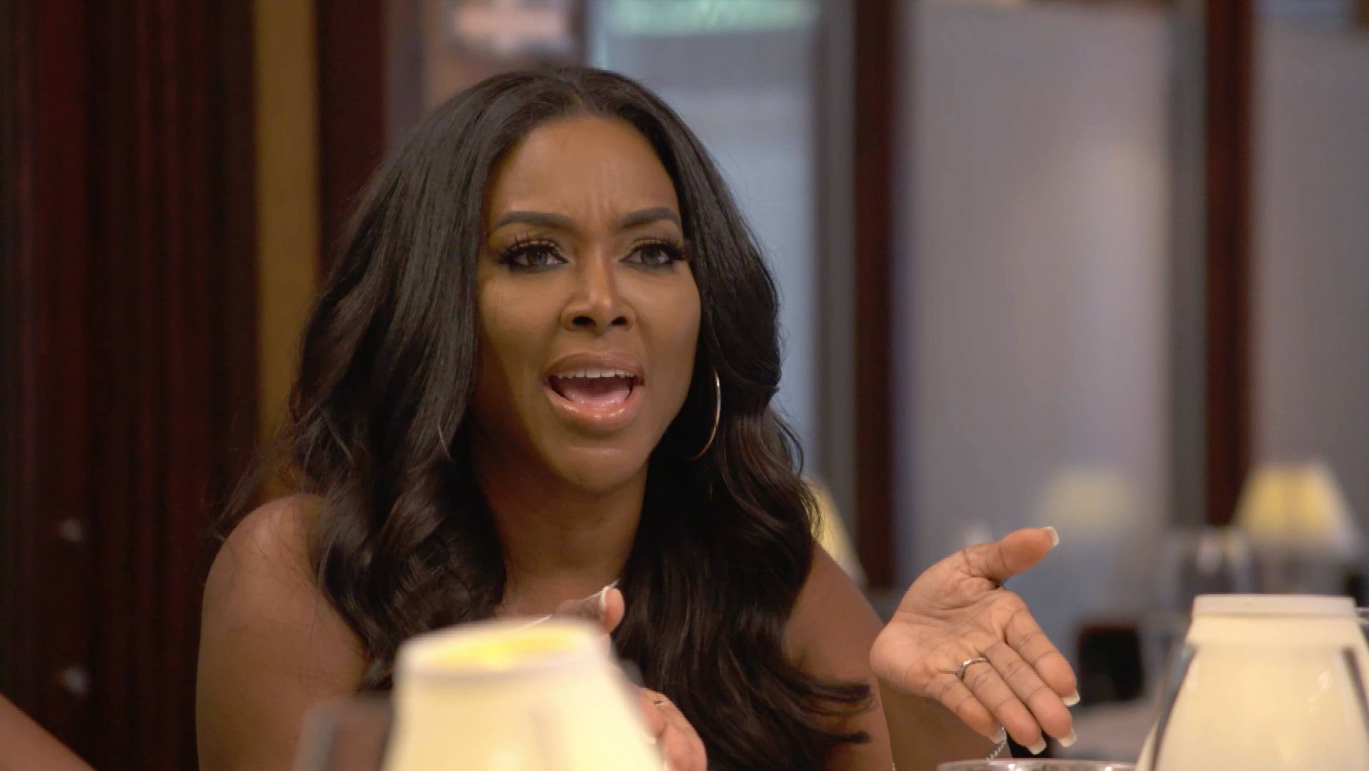 Kenya Moore and Marc Daly Argue Over a Bentley