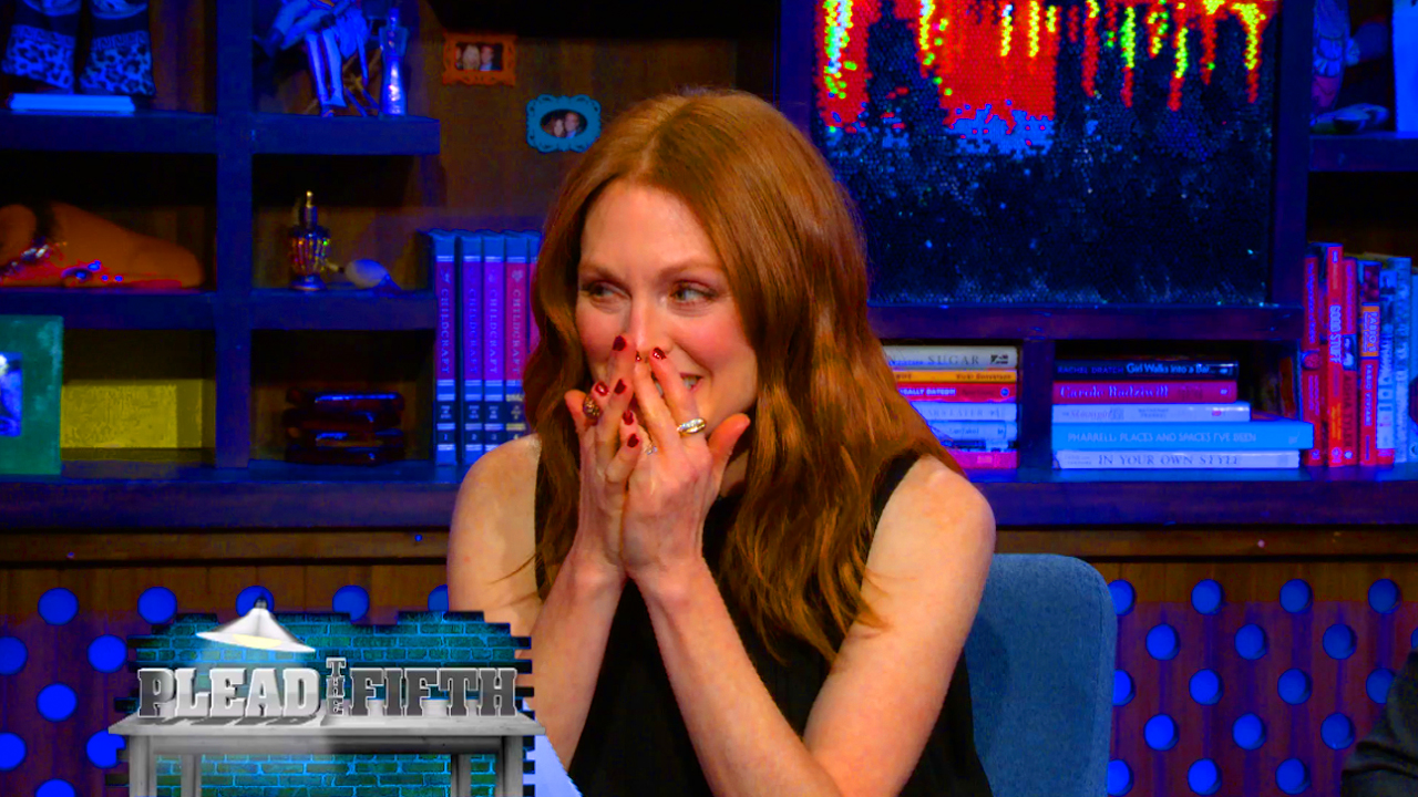 Julianne Moore Pleads the Fifth!