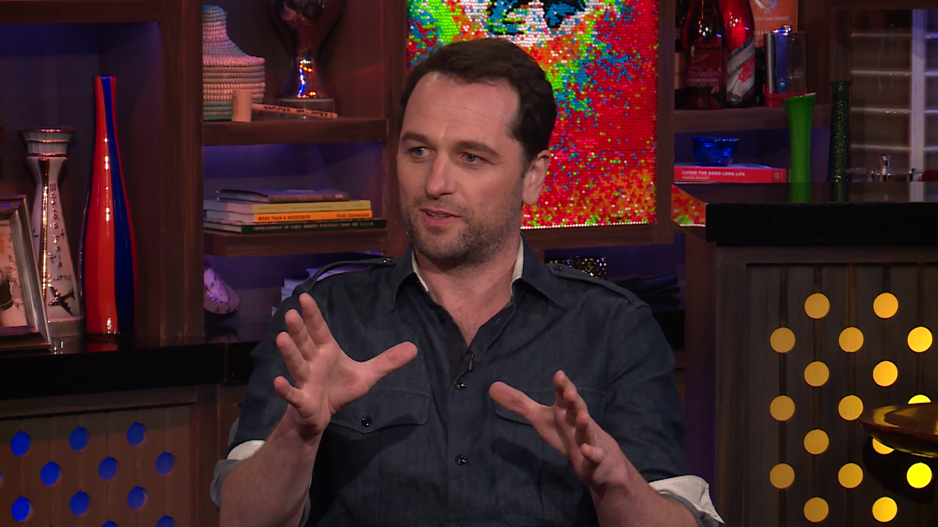 Matthew Rhys on Working with Kathleen Turner