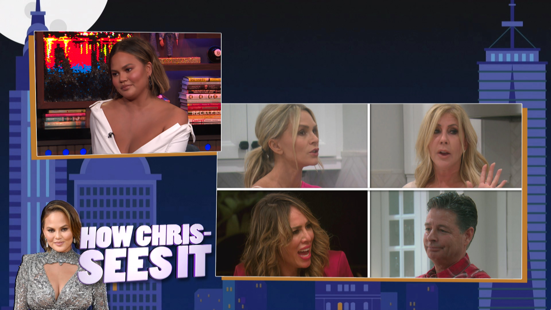 Chrissy Teigen on #RHONY, #RHOC & #BelowDeckMed