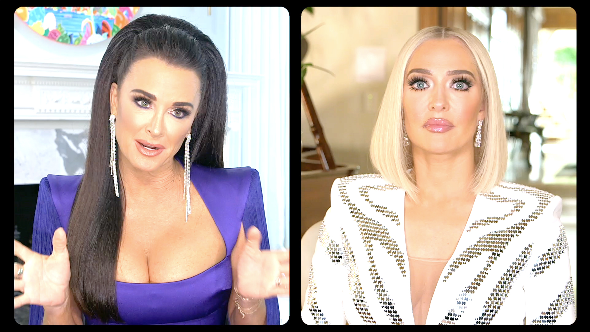 This Is the Major Difference Between How Kyle Richards and Erika Jayne Prepare Their RHOBH Interview Looks