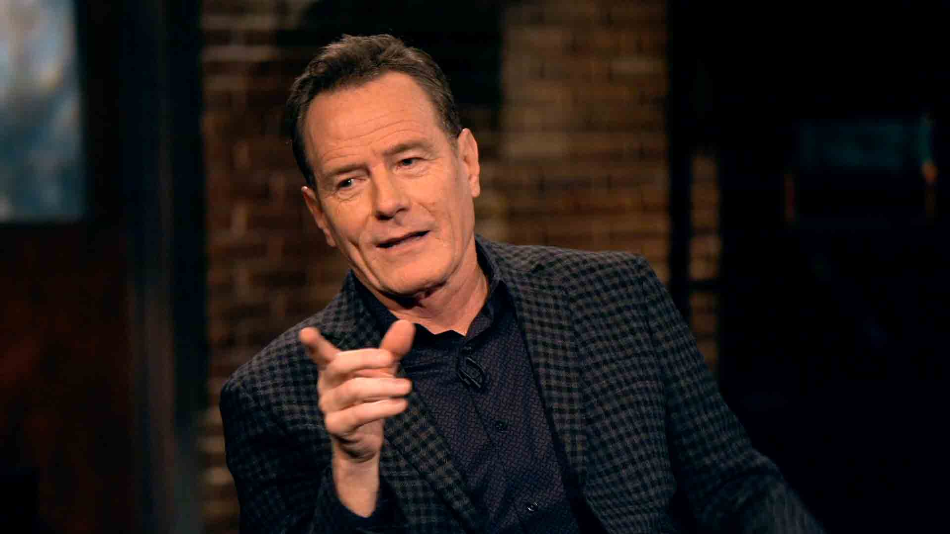 Bryan Cranston Impersonates Christopher Walken
