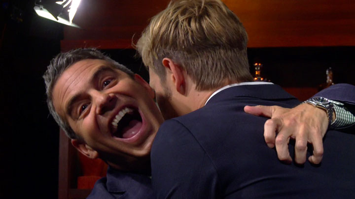 "Andy and Gabriel's ""Revenge"" Hug"