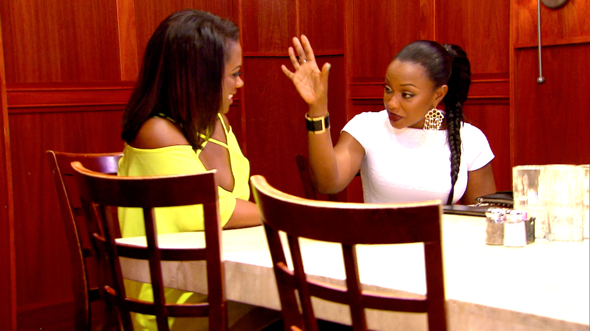 Extended Scene: The #RHOA Ladies' Sit Down